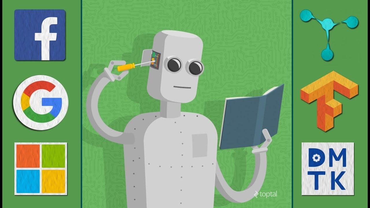 inteligentes através da aprendizagem de máquina interna.