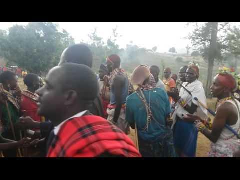 Samburu dance  ( lodoo)