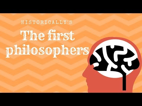 Who were the first Greek Philosophers?