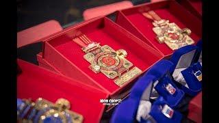 История создания медалей для чемпионата мира по мас-рестлингу