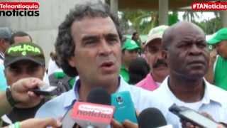 Gobernador Sergio Fajardo visitó corregimiento Pueblo Bello en Turbo