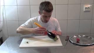 как сделать дельфина из кабачка