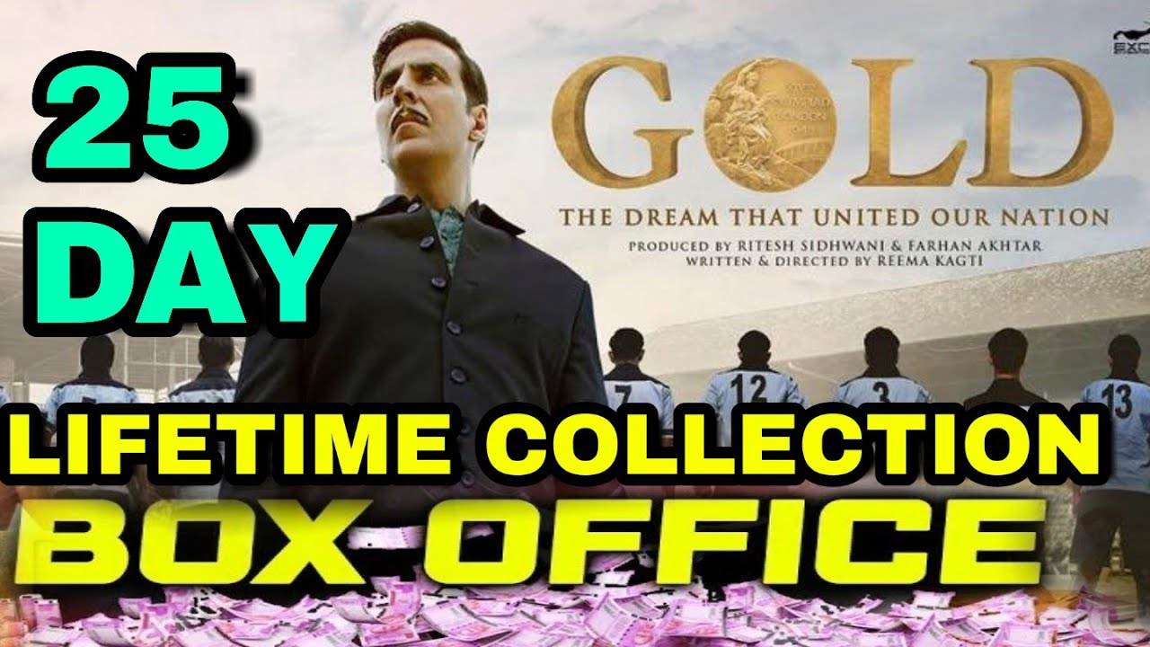 Gold Lifetime Boxoffice Collection Gold Blockbuster In Cenema Akshay Kumar Gold Collection Report
