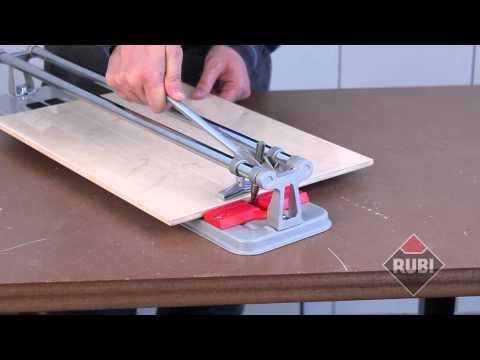 CORTADOR RUBI PRACTIC / PRACTIC RUBI TILE CUTTER