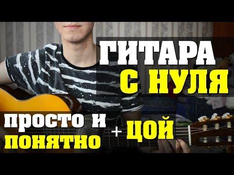 Гитара с нуля // гитара для начинающих // быстрое обучение игре на гитаре (урок 1)