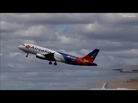 Aircalin A320 departure to Noumea New Caledonia