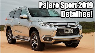 Novo Mitsubishi Pajero Sport 2019 HPE - Falando de Carro