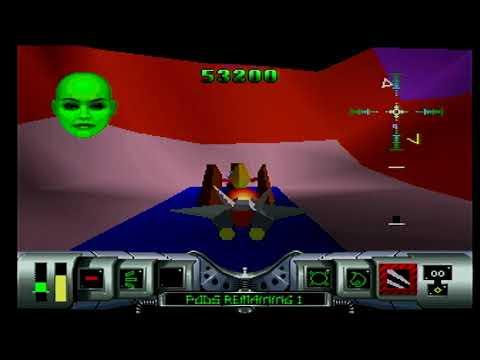 Part 2 HDMI 1080p - Cybermorph Atari Jaguar - Expert Longplay - Original 1993 Hardware - Music Added