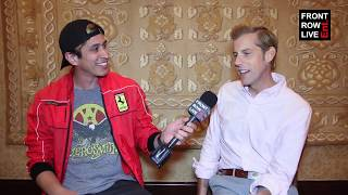 Gambar cover Andrew McMahon Talks 'Upside Down Flowers,' Something Corporate & New Found Glory