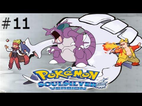 Pokemon SoulSilver NuzlokeChalengeRandomizer #11 Allenamento PrePalestra