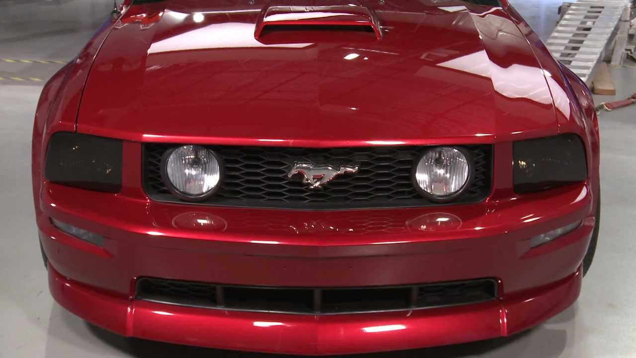 Mustang Smoked Headlight Covers 05 09 Gt V6 Review
