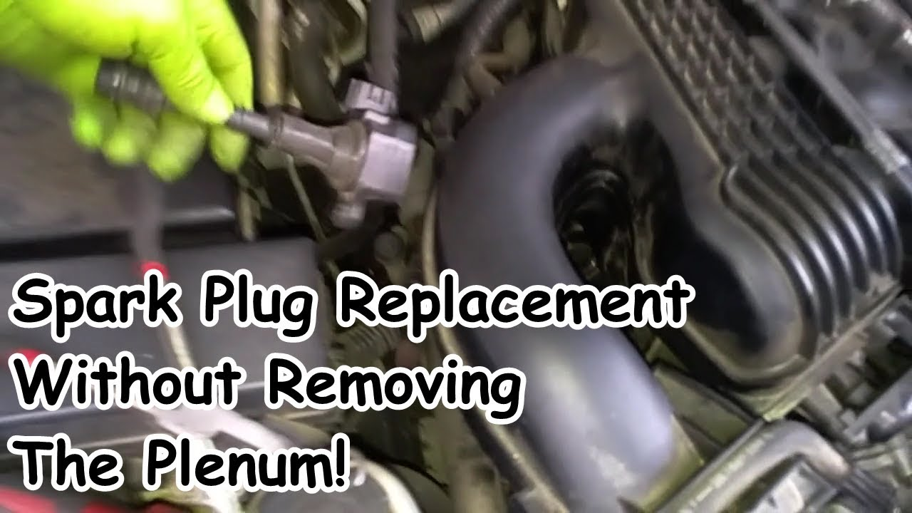 Nissan Xterrra (No Plenum Removal) Coil Pack and Spark Plug Replacement