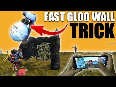 Fast Gloo Wall Tips And Trick With Handcam