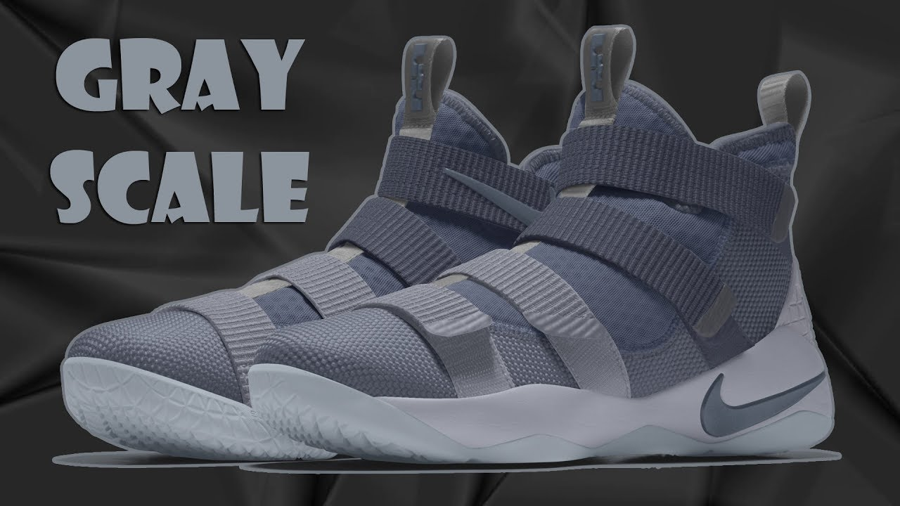 LEBRON SOLDIER 11 GRAYSCALE COLORWAYS