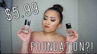i m back   5 99 wet n wild photofocus foundation review on dry normal skin
