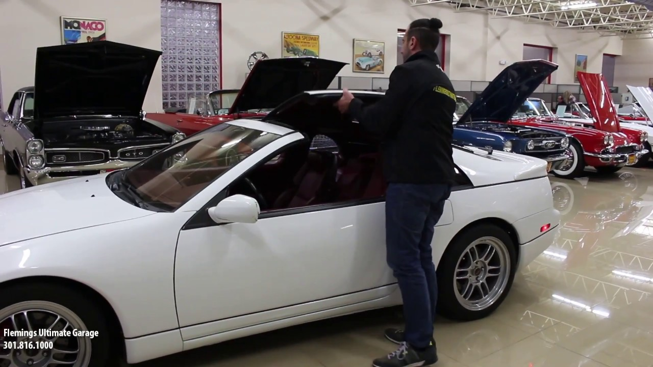 90 Nissan 300zx Twin Turbo Z32 for sale with test drive, driving sounds,  and walk through video