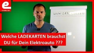 Welche LADEKARTEN brauchst DU ? | Elektroauto Laden | www.e-mike.net