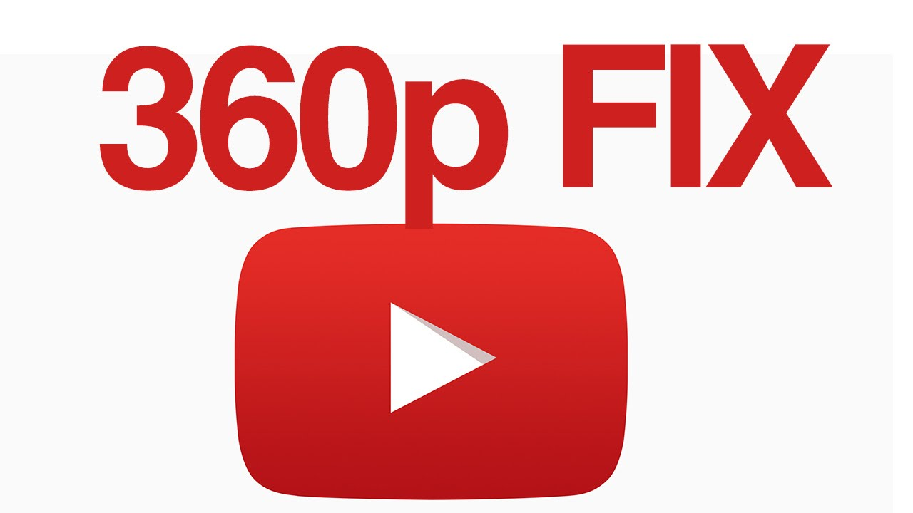 4K & 1080p video uploaded only shows in 360p in YouTube