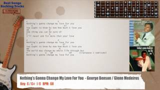 🎸 Nothing's Gonna Change My Love For You  - George Benson / Glenn Medeiros Guitar Backing Track