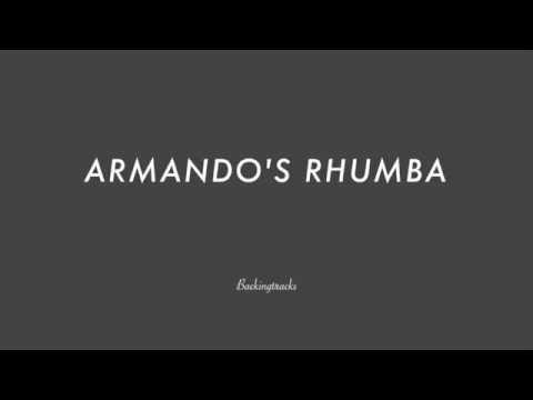 ARMANDO'S RHUMBA chord progression - Backing Track Play Along Jazz Standard Bible 2