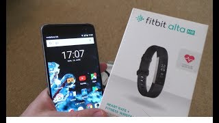 How to Setup the Fitbit Alta HR Activity Tracker on an Android Phone