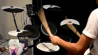 Nanatsu no Taizai: Imashime no Fukkatsu OP Full -【Howling】by FLOW x GRANRODEO - Drum Cover