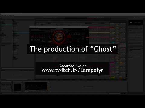 """The production of """"Ghost"""" on Twitch! [ENGLISH/DANISH]"""