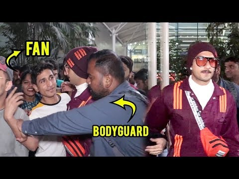 Ranveer Singh SAVES FAN From Bodyguard | Return Mumbai Poster Launch Of Film 83