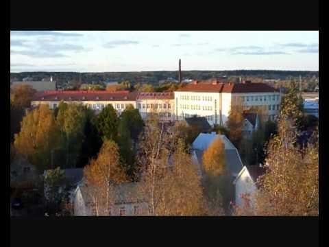Nakyma Turun Kuuvuorelta Overview Of Turku From Kuuvuori Youtube