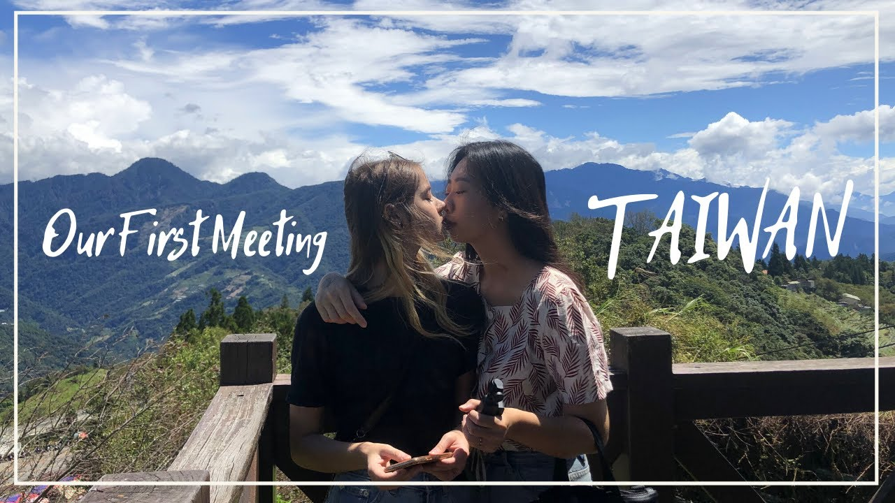 Download Long Distance Relationship First Time Meeting | Lesbian Couple | Poland to Taiwan