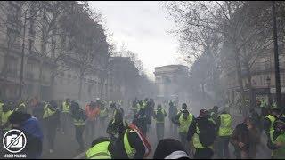 Répression policière des Gilets Jaunes à Paris - Acte IV - 8 décembre 2018