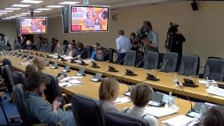 Пресс-конференция: XII КРЯКК и «Четвертая индустриальная революция».