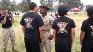 Guy Has A Motivating Boner For Drill Instructor