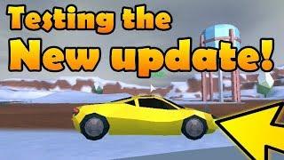 Testing the NEW update! | Roblox Jailbreak