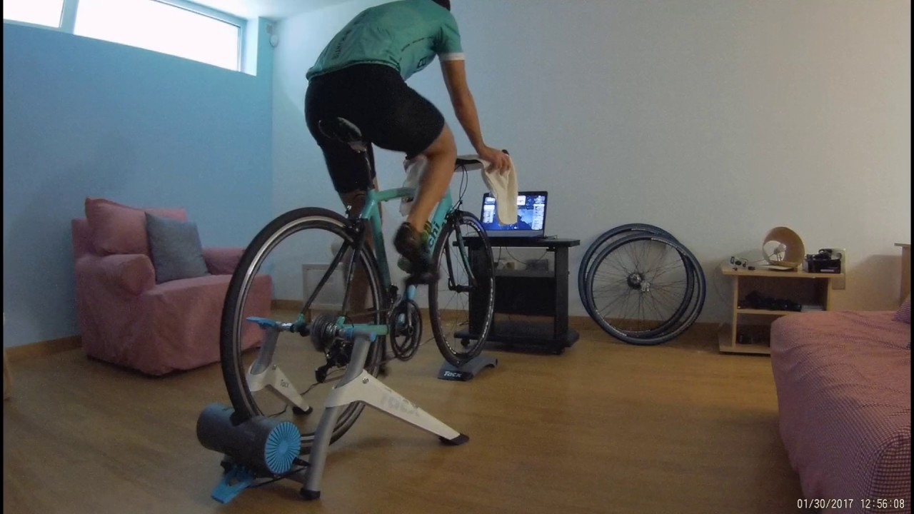 Cycling In Zwift With Tacx Vortex Smart Trainer Youtube