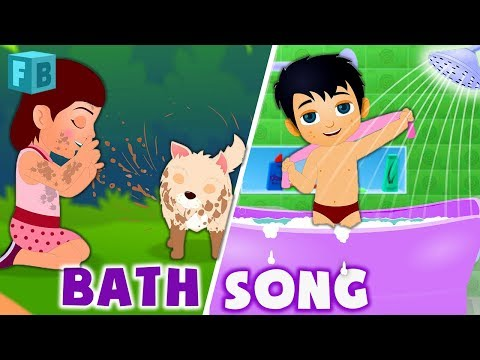 Thumbnail: Bath Song | Nursery Rhymes for Babies | Children Rhymes English |