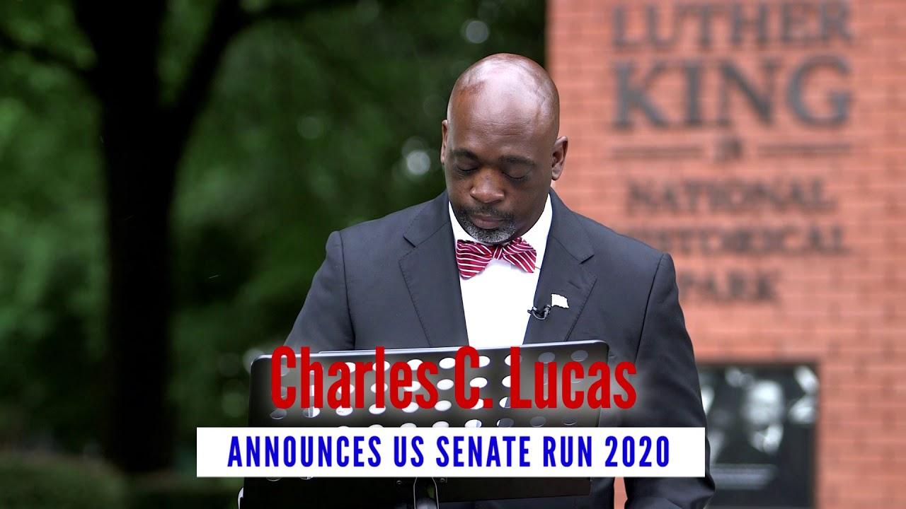 Dr. Lucas announces candidacy!