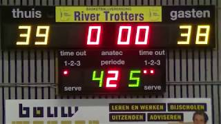 9 march 2019 Rivertrotters MSE2 vs Punch MSE3 68-73 2nd period