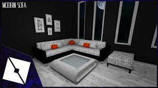 ROBLOX Studio | [SpeedBuild] Modern Sofa