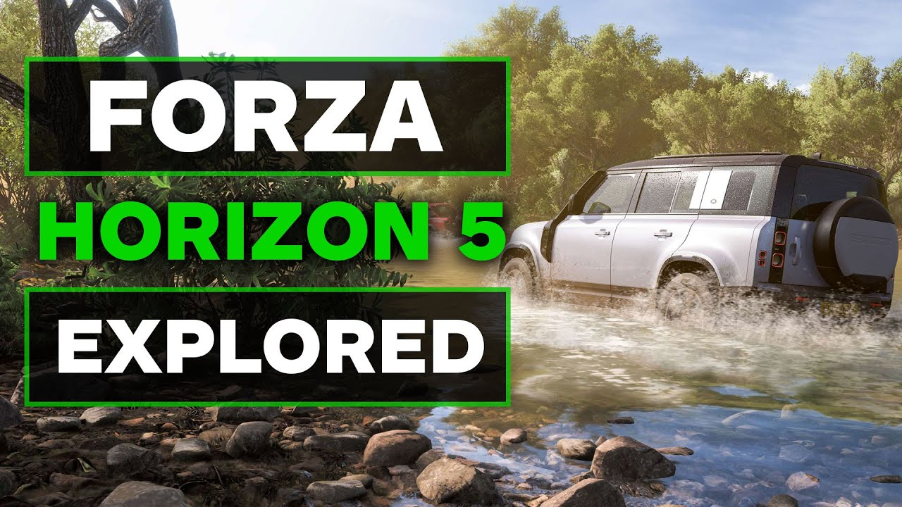 Forza Horizon 5 Biomes Explored and They Look Stunning