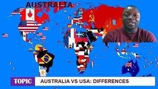 Australia vs America (Differences) captured in videos