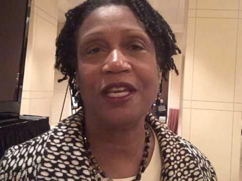 Pat Wheeler, past PR Woman of the Year, Talking ab...