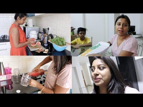 Indian Vlogger Soumali ~ Monday Breakfast to Dinner Vlog 2018 ~ Full Day Routine