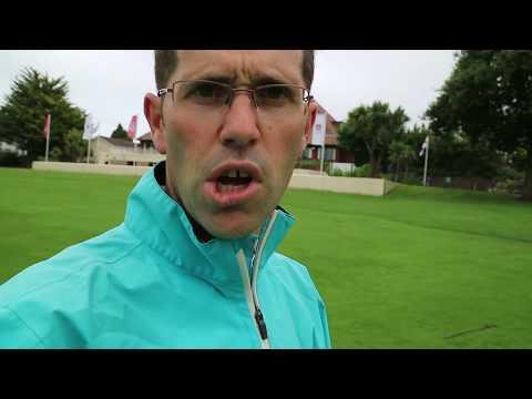 Golf Glove Testing In Wet Weather