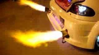 re dual exhaust flame thrower