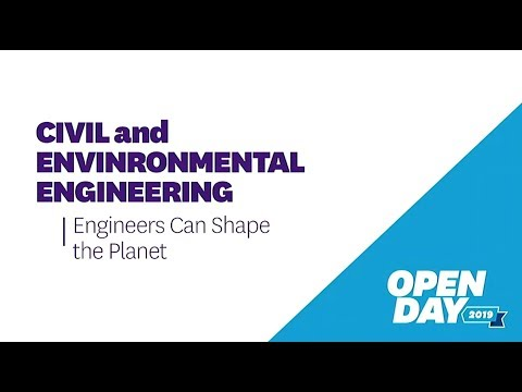 Open Day 2019: Civil And Environmental Engineering