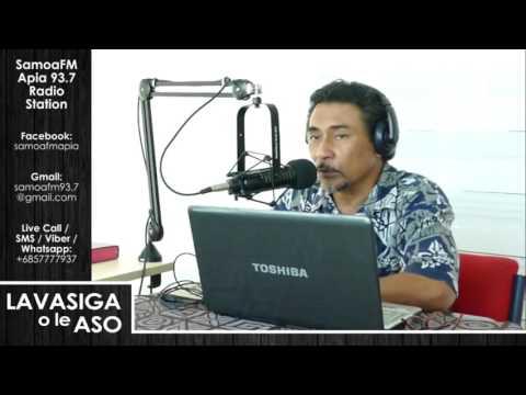 SamoaFM Apia - Lavasiga o le Aso 05 Monday