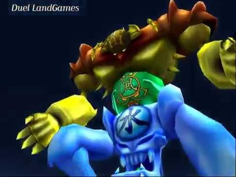 Yu-Gi-Oh   Gate Guardian Attack Animation