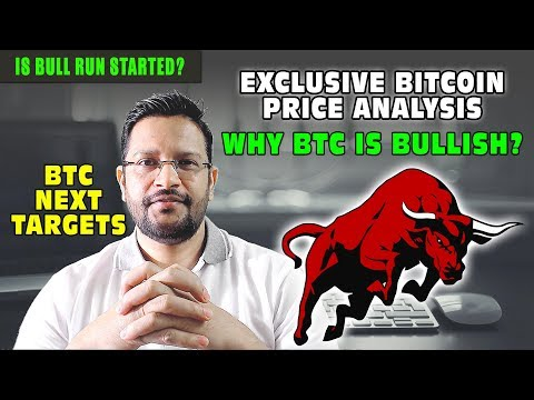 Why Bitcoin BTC is EXTREMELY BULLISH? Is this start of BULL RUN? Bitcoin next targets 5000?