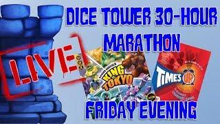 Friday Evening (Dice Tower 2018 Marathon!)